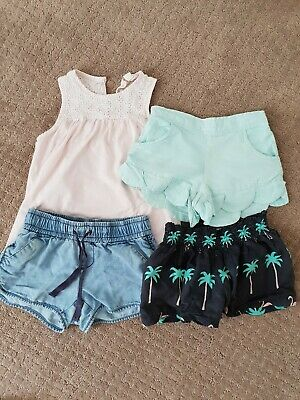 Country Road girls shorts tank summer bundle size 4