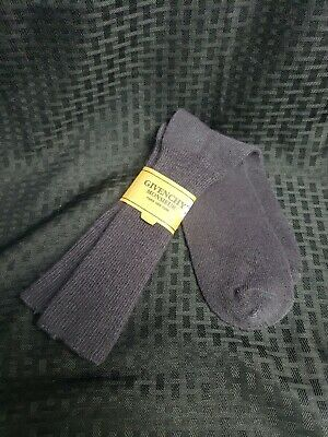 Vintage NOS Givenchy Monsieur 10-13 Mens Dress Socks