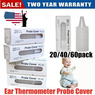 Braun Probe Covers Thermoscan Replacement Lens Ear Thermometer Filter Caps Set!!