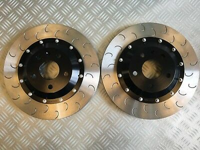 Audi TT RS 8J 370x32 mm bolted front disc kit