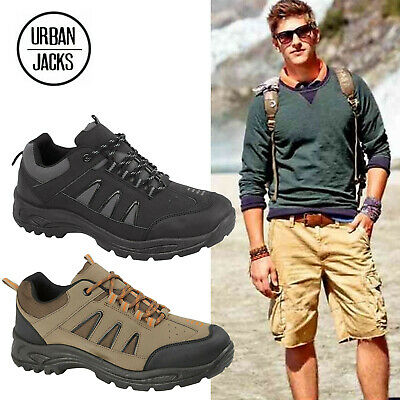 Mens Hiking Boots Ankle Lace Up Trail Trekking Trainers Shoe Size Uk 7 8 9 10 11