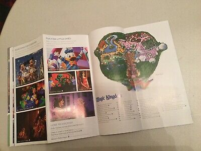 Walt Disney World Orlando Map Booklet 4 Parks Maps & Information