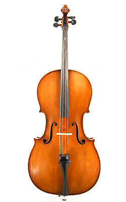 Antique French cello, approx. 1880 - probably Justin Derazey