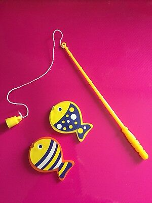 Elf Size Mini Magnetic Fishing Game Props Accessories On The Shelf