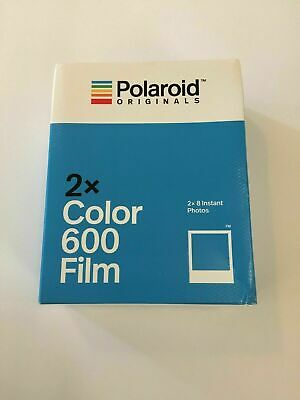 Polaroid Originals 600 Color Instant Film - TWIN PACK NEW SEALED