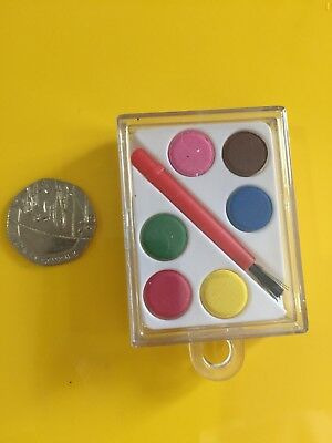 Cute And Fun Mini Sized Paint Set Elf Props Accessories On The Shelf