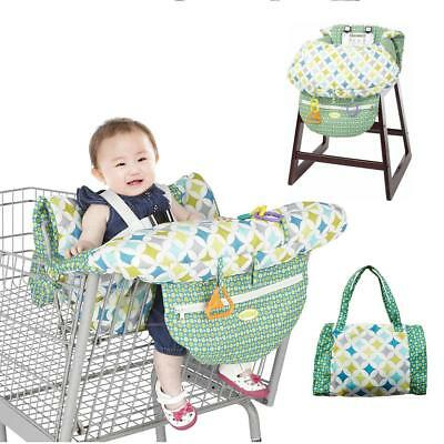 Baby Shopping Cart Cover Cushion Kids Trolley Seat Chair Travel Bag Protector