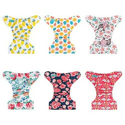 Alvababy Tart And Sweet Six All In One Cloth Diapers New