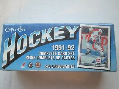 1991-1992 O-Pee-Chee Complete Sealed Factory Set 528 Cards