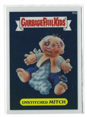Garbage Pail Kids Chrome Series 1 Base Card 40a UNSTITCHED MITCH