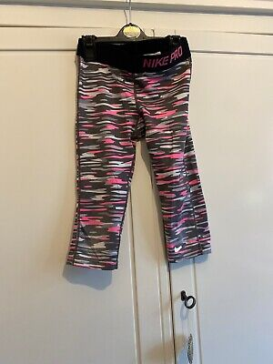 Girls Nike Pro Leggings Age 8-10