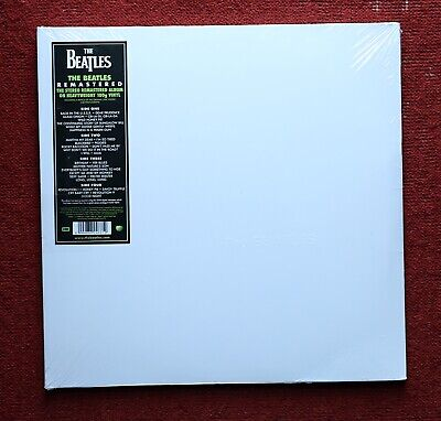 The Beatles White Album 50th Anniversary 2LP Remastered Vinyl