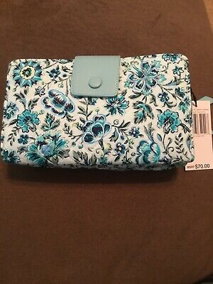 Vera Bradley Iconic Deluxe All Together Crossbody in Cloud vine NEW 2020