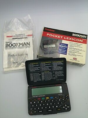 Franklin Pocket Lexicon Electroni Library