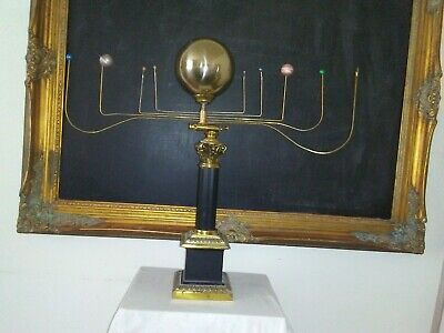 Antiqued orrery planetarium solar system by SC artist,Will S.Anderson