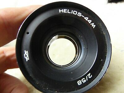HELIOS-44M-4 58mm f/2 PRIME LENS with M42 SCREW THREAD MOUNT in VERY GOOD COND.