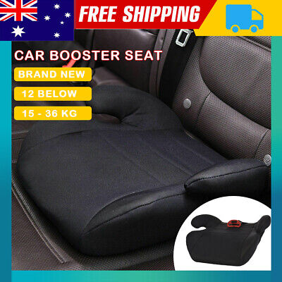 Car Booster Seat Chair Cushion Pad For Toddler Children Child Kids Sturdy Black