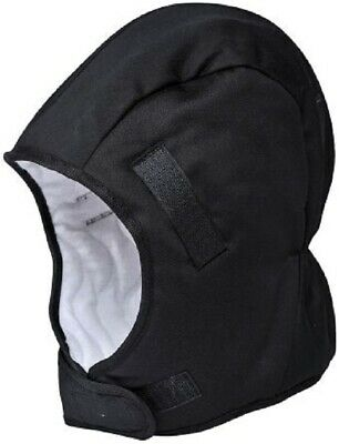 RS Pro HELMET WINTER LINER 100% Cotton, Protects Your Head, Neck & Face BLACK