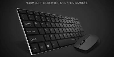 NEW Rapoo 9000 Bluetooth Keyboard Mouse Combo (support 4 devices)