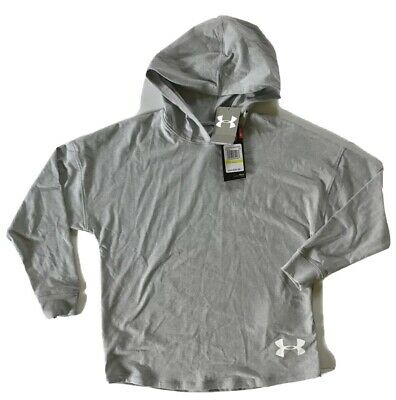 Under Armour Heatgear Hoodie Girls Size Medium MSRP $34.99