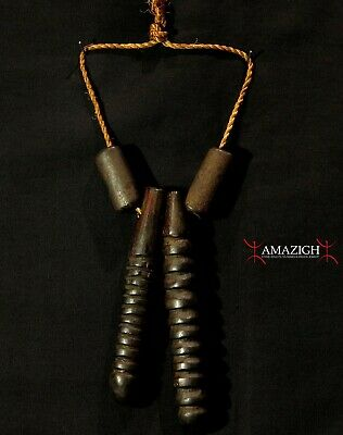 Old Necklace Elements - Mursi Tribe - Omo Valley, Southern Ethiopia - Rare Item