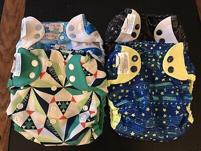 BumGenius  Elemental E2 Organic All In One Cloth Diapers
