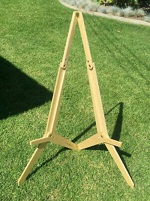 Jack Knife Wooden Portable Folding Artist / Display / Painting Easel - 36 inch