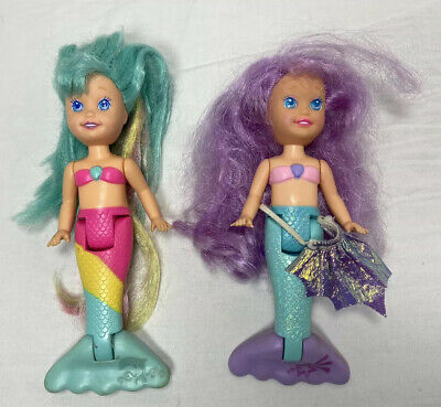 Vintage 1991 Playskool My Pretty Mermaid Doll Lot