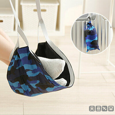 Portable Travel Airplane Foot Rest Foldable Footrest Leg Hammock for Office