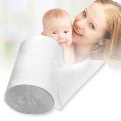 Baby Flushable Disposable Cloth  Nappy Liners 100 Sheets 1 Roll Diaper Bamboo QP