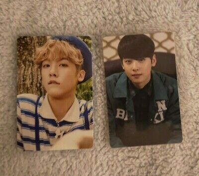 YOON SANHA CHA EUNWOO Official Photocard - ASTRO Summer Vibes / Spring Up