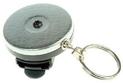 Securikey SELF-RETRACTING KEY REEL 600mm Stainless Steel Chain, Spinner Fitting