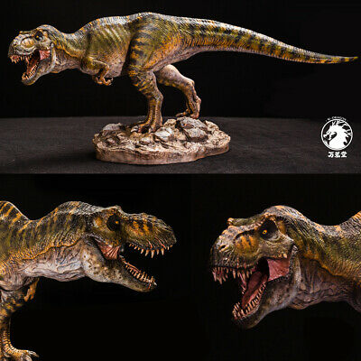 W-Dragon 1/20 Male Tyrannosaurus Rex Statue Dinosaur Figure Collector Trex Toy