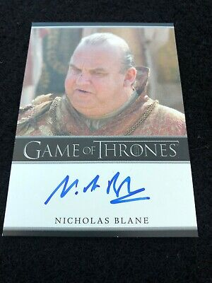 Game Of Thrones Autograph Card