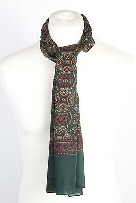 Vintage Smart Casual Printed Mens Scarf Retro Gentlemens Multi Colour - FL171