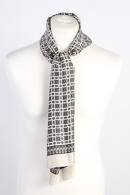 Vintage Smart Casual Printed Mens Scarf Retro Gentlemens Multi Colour - FL163