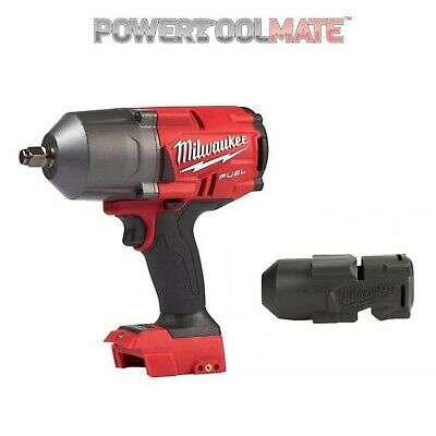 Milwaukee M18FHIWF12-0 FUEL Gen2 1/2 inch Impact Wrench Bare Unit & Rubber Boot