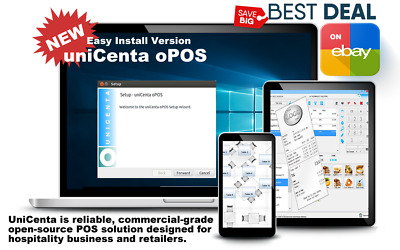 Point of Sales Software for PC / Windows 10,8,7 Download or DVD or USB