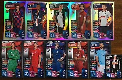 Topps Match Attax Champions League 2019-20 All 10 Limited Xl Xxl Complete