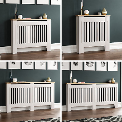 Arlington Radiator Cover White Modern Traditional Grill Cabinet Wood Furniture