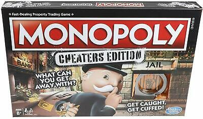 (BRAND NEW) Monopoly Game: Cheaters Edition Board Game Ages 8 and Up, Hasbro