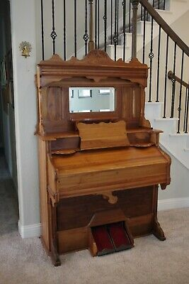 Pump organ, Reed Organ, Antique Organ, Bell Organ Restored