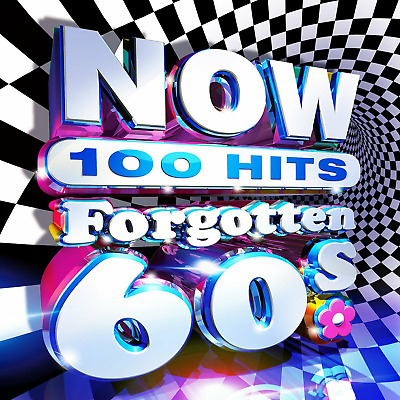 NOW 100 Hits Forgotten 60s Various Artists NEW 4CD SET - Released 27/03/2020