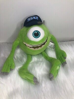 New Disney Store Mike Wazowski Monster Plush Toy 10 H Monsters University 16 90 Picclick