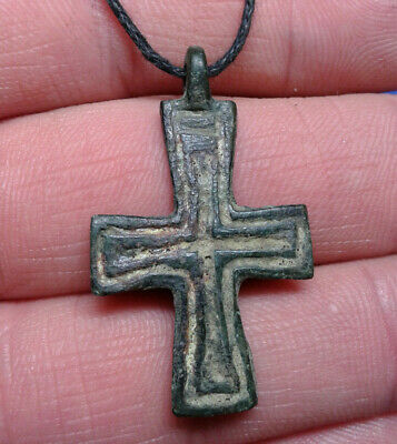 Ancient Bronze Cross 9th to the mid-13th century.