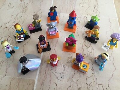 Lego Friends: Lot De 2 Mini-Figurines Simpson, Harry Potter, Aladin, Alice...