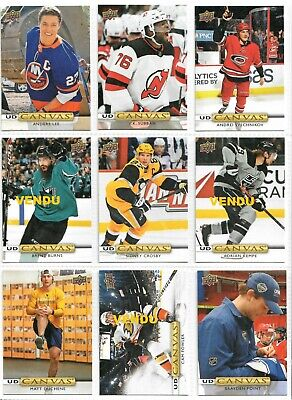 2019 - 20 Upper Deck Series 2 UD Canvas U-Pick From List