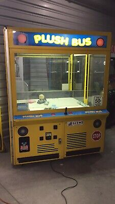 """60"""" ICE Plush Bus Crane Claw Machine Arcade Game! Shipping Available!"""