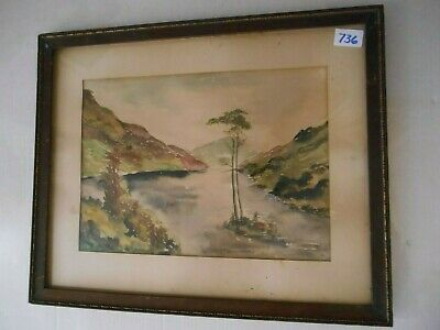 watercolor  from early 20th century
