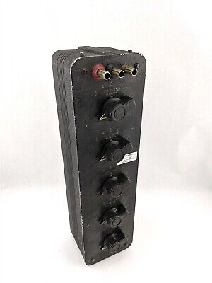 General Radio GenRad 1432-N Wide Range Resistance Circuit Decade Resistor Unit